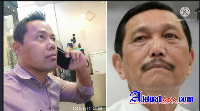 Kerap Marahin Awak Media, Arogansi Luhut Binsar Panjaitan di Sorot Ketua SPRI Riau
