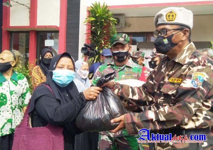 PC 1133 FKPPI Kota Semarang di HUTnya ke-43 Gelar Tasyakuran dan Bagi Sembako