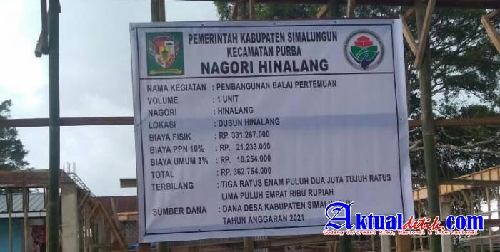 Walnayan Purba Kepala Desa Hinalang Tidak Memberdayakan Masyarakatnya