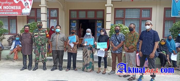 Pemerintah Desa Tarai Bangun Salurkan BLT DD Bulan Juni,Juli dan Agustus Kepada Masyarakat