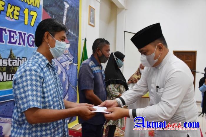 LAZISMA Suntik Modal Kepada 127 Pelaku UMKM Semarang