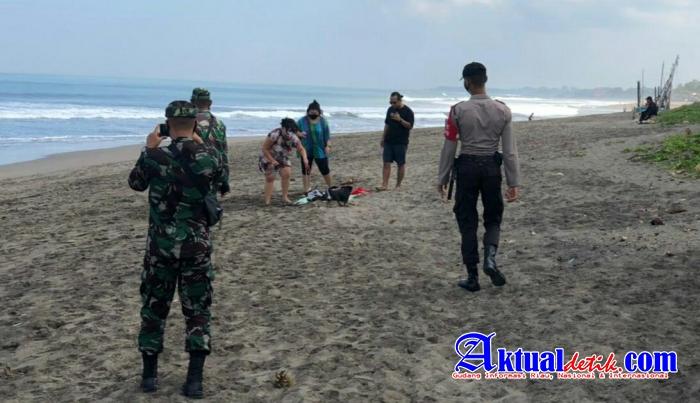 Obyek Wisata Pantai Jadi Sasaran Tim Gabungan Yustisi PPKM Darurat