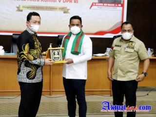 Bupati Kabupaten Pelalawan Menerima Kunjungan Kerja Anggota Komisi V DPR RI Fraksi PKS Dapil Riau II