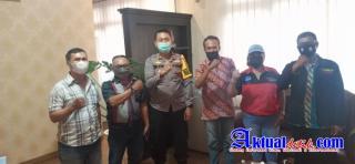 Pengurus DPD PJI-D Provinsi Bali Laksanakan Audiensi ke Polres Badung