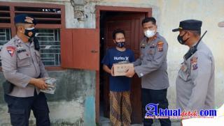 Polsekta Medan Area Melaksanakan Kegiatan Penyaluran Sembako Dari Kapoldasu
