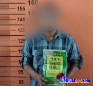 Kompol Dedy Dharma Ungkap Penangkapan Pria Bawa Sabu 1000 Gram Ke Medan