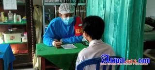 Percepat Pelaksanaan Vaksinasi, Polres Klungkung Adakan Gerai Vaksinasi Untuk Anak Usia 12-17 Tahun