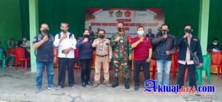 Ditengah Giat Penyaluran Bantuan Tunai PKLW, Dandim 1619/Tabanan Menerima Audensi DPD PJID Bali