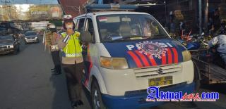 Sat Lantas Polres Pematangsiantar Laksanakan KRYD