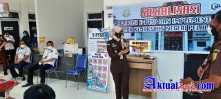 Kejari Pelalawan luncurkan E- PTSP