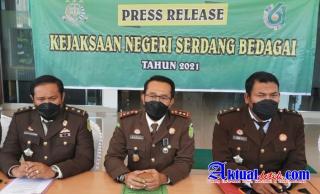 Kasus Dugaan Korupsi Dana Hibah KPUD Sergai, Kejari Sergai Sita Uang Rp 141 Juta