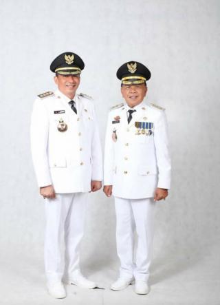 Bupati & Wabup Kab.Kepulauan Meranti Dilantik, Sukseskan 7 Program Kerja