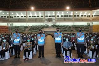 Kapolda Sumut Memimpin Kelulusan 607 Putra dan 13 Putri Terbaik