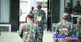 Kepala Staf Korem (Kasrem) Pimpin Apel Luar Biasa Personil Makorem 133/NW