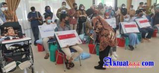 Kapolresta Dampingi Mensos RI Dalam Kunker Ke Riau