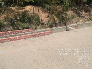 Diduga Pengawasan Pekerjaan Drainer Kelurahan Bagan Besar Tidak Berjalan