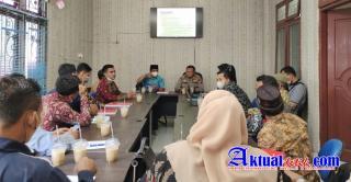 Dinas PMD Pelalawan Gelar Sosialisasi Peraturan Bupati Pelalawan Nomor 31 Tahun 2021