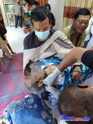 Seorang Warga Karang Sari Tewas Gantung Diri