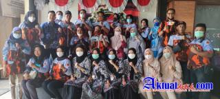 Dalam Rangka Hut Ke 62 Pemuda Pancasila, B2P3 Menggelar Vaksinasi Masal