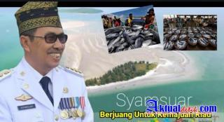 Gubernur Riau Syamsuar, Perjuangkan Pulau Terluar Riau