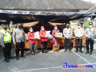 Kapolda Bali Bersama PJU Polda Bali, Kunjungi Warga Korban Bencana Alam Pasca Terjadinya Gempa Bumi