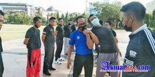 PT Elang Security Nusantara Gelar Kesamaptaan dan Beladiri Praktis Untuk Anggotanya