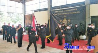 Laskar Perisai Bangsa Brajamusti Jawa Tengah Gelar Deklarasi dan Pelantikan