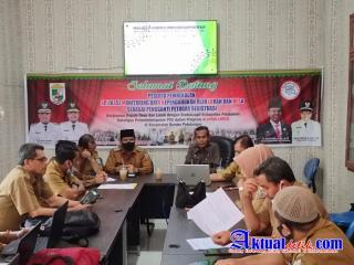Disdukcapil Beri Pembekalan Aplikasi Monitoring Data Kependudukan Di Kecamatan Bandar Petalangan