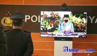 Digelar Virtual, Upacara Hari Bhayangkara Ke-75 Dipimpin Presiden Joko Widodo