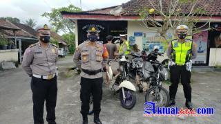 1 Joki dan 5 Motor Diamankan Dalam Operasi Balap Liar Yang di Laksanakan Polsek Ubud