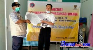 AWPI Bersinergi dengan Baznas Kota Semarang Gelar Sosialisasi Jambanisasi Kp.Kebonharjo Rt 8/Rw IX