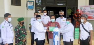 Pemkab Siak Terima Bantuan Logistik Medis dari Kadin Riau