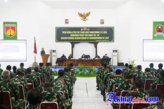 Letjen.TNI.Teguh Arif Indratmoko SE.MM : Prajurit TNI AD Selalu Hadir Untuk Membantu Kesulitan Rakya
