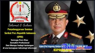 Bagaimana Pers Tetap Profesional Ditengah Situasi Sulit? Begini Tips Kapolda Riau