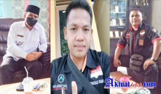 Pimred Media online Pirnas Riau dan media Aktualdetik Com Audensi Ke Kantor Camat Bandar Petalangan