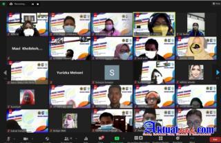 SMA Negeri 4 Semarang Gelar IHT Asesmen Nasional Secara Virtual