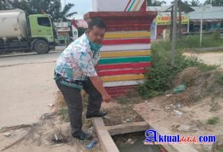 Proyek Drainase di PUPR Kota Dumai Diduga Tidak Sesuai Spesifikasi, Aparat Diminta Turun