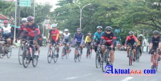 Gowes Sinergi TNI-POLRI Maluku Utara