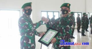 Danrem Pimpin Korp Raport Mutasi Jabatan dan Pindah Satuan Perwira Korem 045/Gaya