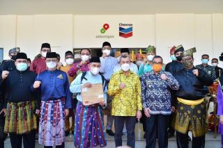 Bersama Menparekraf, SKK Migas Sumbagut Resmikan Sentra Budaya Ekraf Melayu Riau