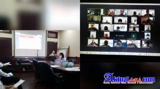 Zoom Meeting Dengan OJK dan Finance, Polda Bali Imbau Finance Tidak Gunakan Jasa Debt Collector