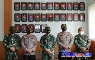 Perkuat Soliditas TNI-Polri Kapolres Pematangsiantar Silaturahmi Ke Makorem 022/Pantai Timur