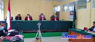 Sidang Pengerokan Wartawan, Hakim Vonis Satu Tahun, JPU Tuntut Hanya 10 Bulan Ada Apa...??