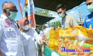 Pasar Murah di Padebuolo Diserbu Emak-emak