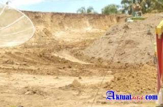 Diduga Tanah Timbunan Proyek Jalan Tol Tidak Memiliki Ijin