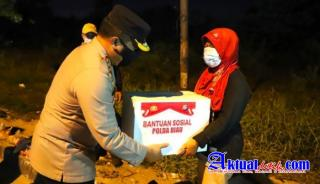 Di Suatu Malam, Antara Kapolda Riau Dan Pedagang Kerak Telur