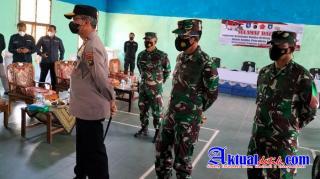 Danrem 045/Gaya Tinjau Penerapan PPKM Level 4 di 3 Wilayah Kelurahan/Kecamatan Di Bangka
