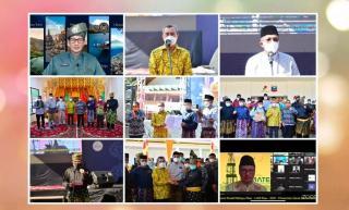 Didukung SKK Migas Riau dan PT Chevron, Menparekraf RI Sandiaga Uno Resmikan Gerai Sentra Budaya