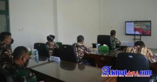 Letkol Inf Arry Sundoro Dan Pengurus FKPPI Babel Ikuti Acara Sapa Pengurus Cabang KB FKPPI