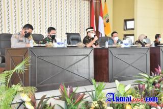 Forkopimda Gelar Rakor PPKM, Antisipasi Lonjakan Angka Covid-19 di Lampung Timur